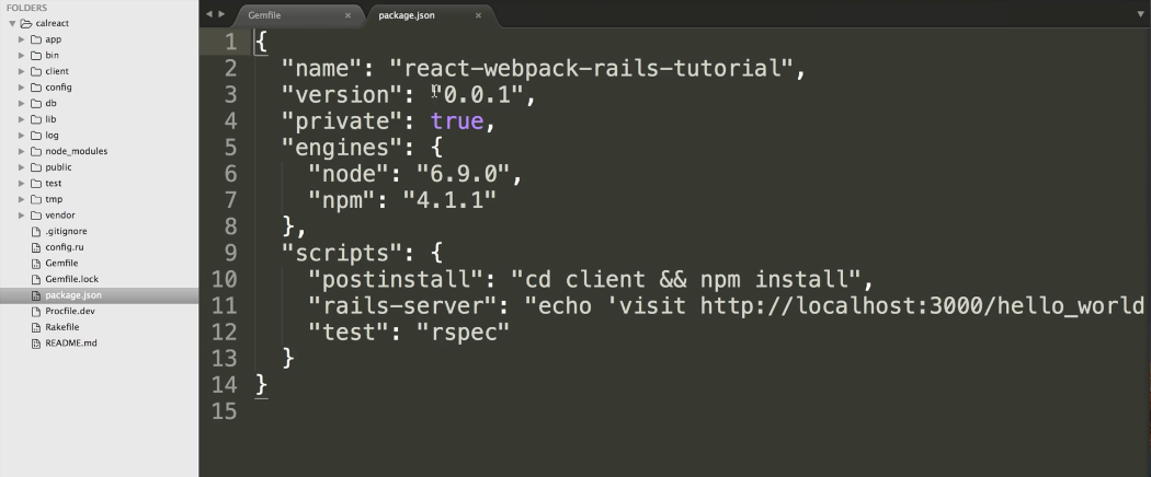 Introduction and setup of Webpack with react_on_rails gem
