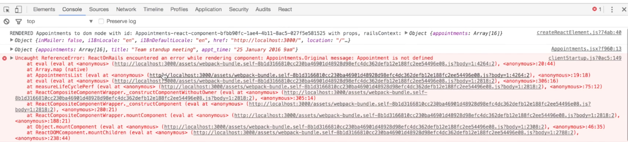 Migrating the Calendar appointments app to react_on_rails   Learnetto